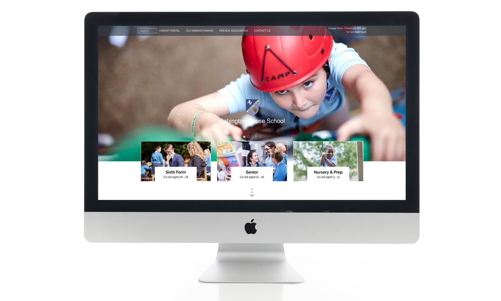 Babington House School Website